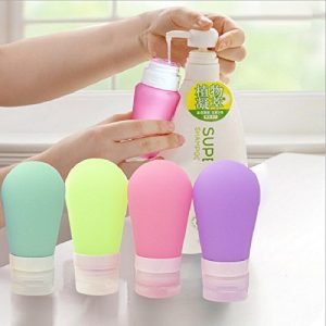 89ml Empty Silicone Travel Refillable Bottle